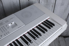 Load image into Gallery viewer, Yamaha DGX660 WH 88 Weighted Key Portable Grand Digital Piano with Stand White