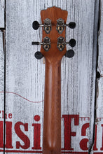 Load image into Gallery viewer, Luna UKE MO CDR Concert Solid Cedar Top Acoustic Electric Ukelele with Gig Bag
