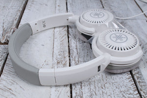 Yamaha Dynamic Open Back Headphones with Adjustable Headband HPH-150WH White