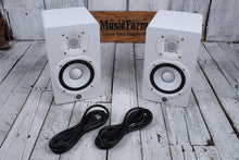 Load image into Gallery viewer, 	 Yamaha HS5 PAIR OF TWO 70W Bi Amp Two Way Powered Studio Monitor Active Speaker - White