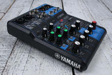 Load image into Gallery viewer, Yamaha MG06X 6 Channel Compact Analog Mixer with 2 Mic Preamps & Digital Effects