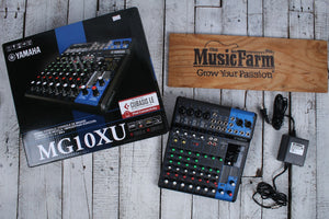 Yamaha MG10XU 10 Channel Mixer with USB Output and SPX Digital Effects