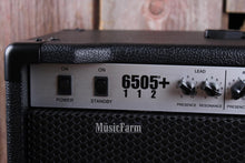Load image into Gallery viewer, Peavey 6505+ 112 Electric Guitar Amplifier 6505 Plus 60 Watt 1 x 12 Tube Amp