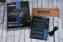 Load image into Gallery viewer,  Yamaha MG12 12-Input Four Bus Mixing Console