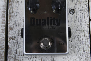 Darkglass Duality Dual Fuzz Electric Bass Guitar Effects Pedal DFZ w FREE Cables
