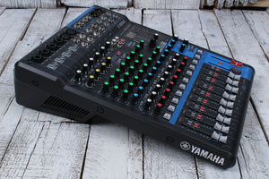 Yamaha MG12XU 12 Input Four Bus Analog Mixer with USB and Digital Effects