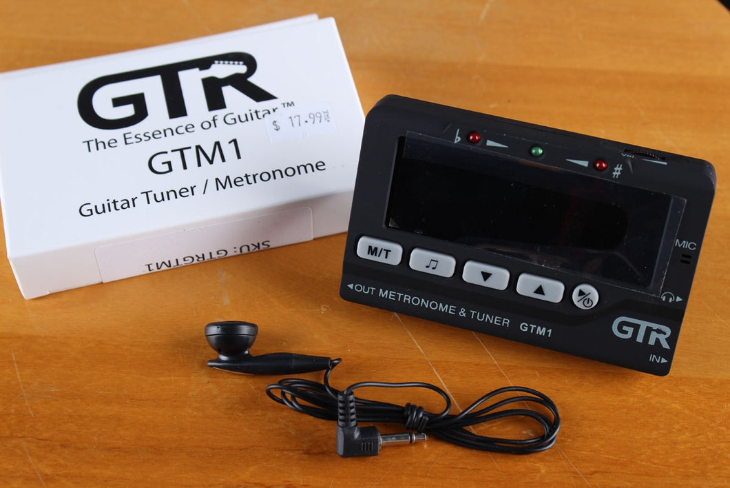 GTR The Essence of Guitar GTm1Tuner Metronome