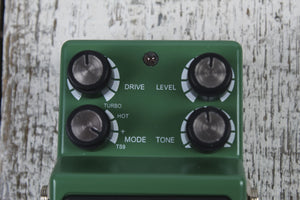 Ibanez TS9DX Turbo Tube Screamer Overdrive Electric Guitar Pedal w FREE CABLES