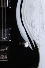 Load image into Gallery viewer, Sozo Z Series Z8SCBK Single Cut Solid Body Electric Guitar with Hardshell Case