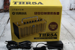 Yamaha THR5A Acoustic Electric Guitar Amplifier 10 Watt 2 x 3 Amp with Cubase