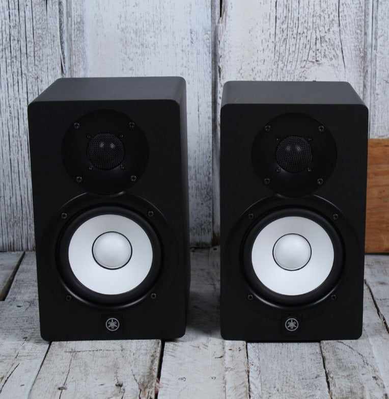 Yamaha HS5 PAIR OF TWO 70W Bi Amp Two Way Powered Studio Monitor Active Speake