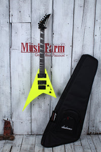Jackson JS1X RR Minion AH FB Neon Yellow w/ Gig Bag