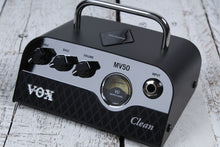Load image into Gallery viewer, VOX MV50 Clean Electric Guitar Amplifier Head 50 Watt Hybrid Tube Amp MV50CL