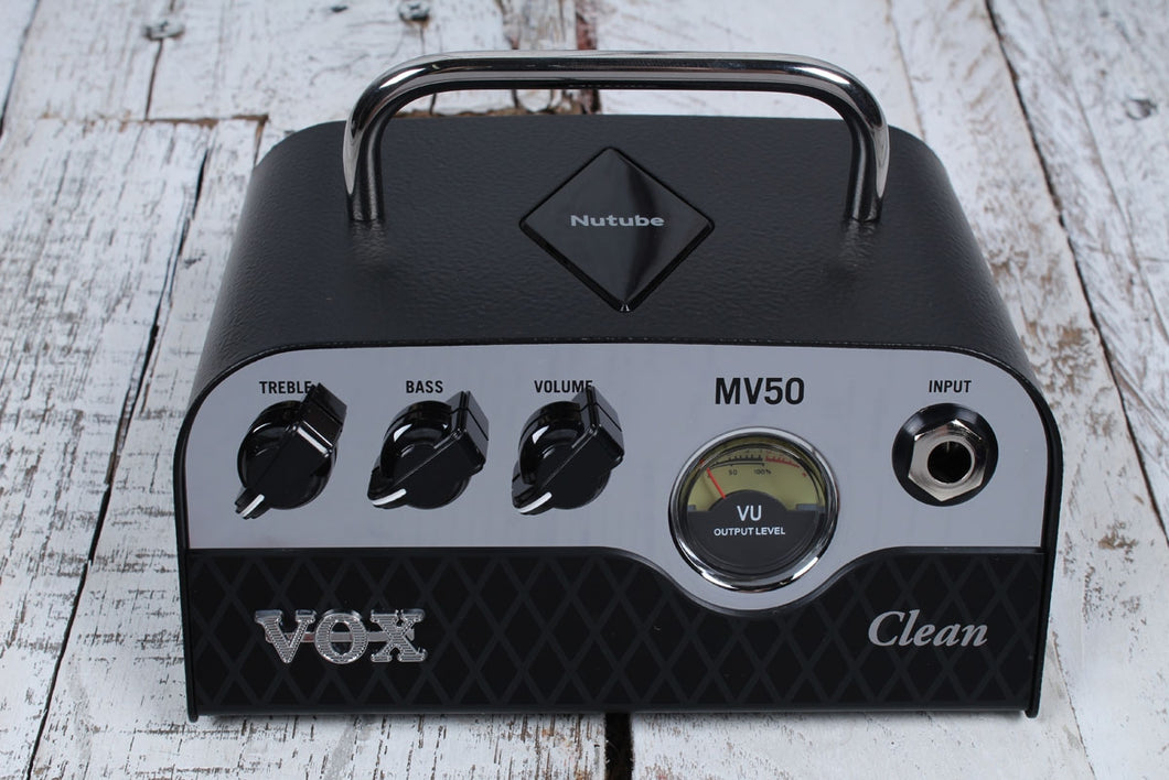 VOX MV50 Clean Electric Guitar Amplifier Head 50 Watt Hybrid Tube Amp MV50CL