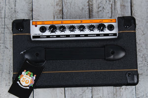 Orange CRUSH12 Electric Guitar Combo Amplifier 12 Watt 1x6 Solid State Amp Black