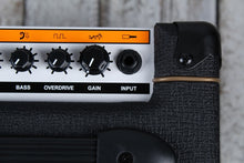 Load image into Gallery viewer, Orange CRUSH12 Electric Guitar Combo Amplifier 12 Watt 1x6 Solid State Amp Black