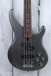 Yamaha TRBX204 GRM 4 String Bass Electric Guitar w Active Preamp Gray Metallic