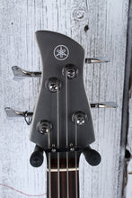 Load image into Gallery viewer, Yamaha TRBX204 GRM 4 String Bass Electric Guitar w Active Preamp Gray Metallic