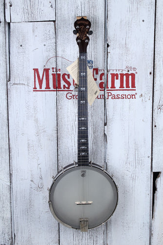 Deering Artisan Goodtime Americana 5 String Banjo with 12 Inch 3 Ply Maple Rim
