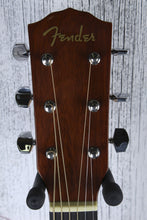 Load image into Gallery viewer, Fender® CP-60S Parlor Body Acoustic Guitar Solid Spruce Top Natural Gloss Finish