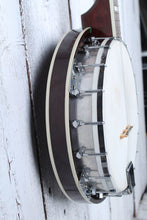 Load image into Gallery viewer, Prairie 4 String Resonator Tenor Banjo Sunburst Gloss Finish with Chipboard Case