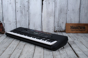 Yamaha PSRE263 61 Key Portable Keyboard with 400 Voices and Bonus Survival Kit