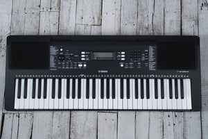 Yamaha PSR-E363 Touch Sensitive 61 Key Portable Keyboard USB with Survival Kit