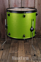 Load image into Gallery viewer, DDrum Rock D2R LIME SPKL Complete Package 4 Piece Drum Set Kit Lime Sparkle