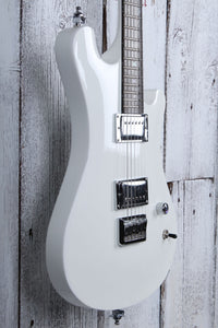 Sozo Z Series Z7CUSTOM Z7 Custom Electric Guitar Snow White with Hardshell Case
