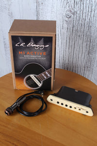 LR Baggs M1A Acoustic Guitar Humbucking Soundhole Active Pickup w Volume Control