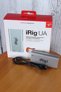 IRIG UA ANDROID Interface