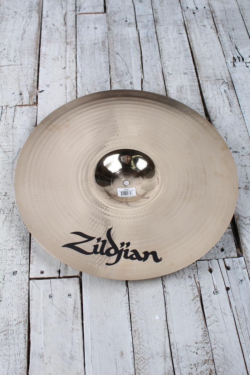 Zildjian A Custom Projection 18 Inch Crash Drum Cymbal Brilliant Medium Thin