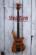 Load image into Gallery viewer, Sozo Z Series Render 4 String Electric Bass Guitar Maple Burl w Hardshell Case