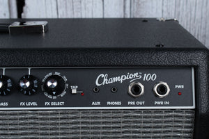 Fender Champion 100 Electric Guitar Amp Combo Amplifier