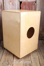 Load image into Gallery viewer, Stagg CAJ-50M Sunburst Medium Sized Cajon w/ Gig Bag