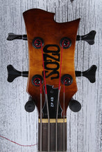Load image into Gallery viewer, Sozo Z Series Provide 4 String Electric Bass Guitar Violin Burst with Hard Case
