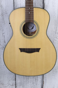 Dean St Augustine Concert Solid Wood Acoustic Electric Guitar Natural SACE SN