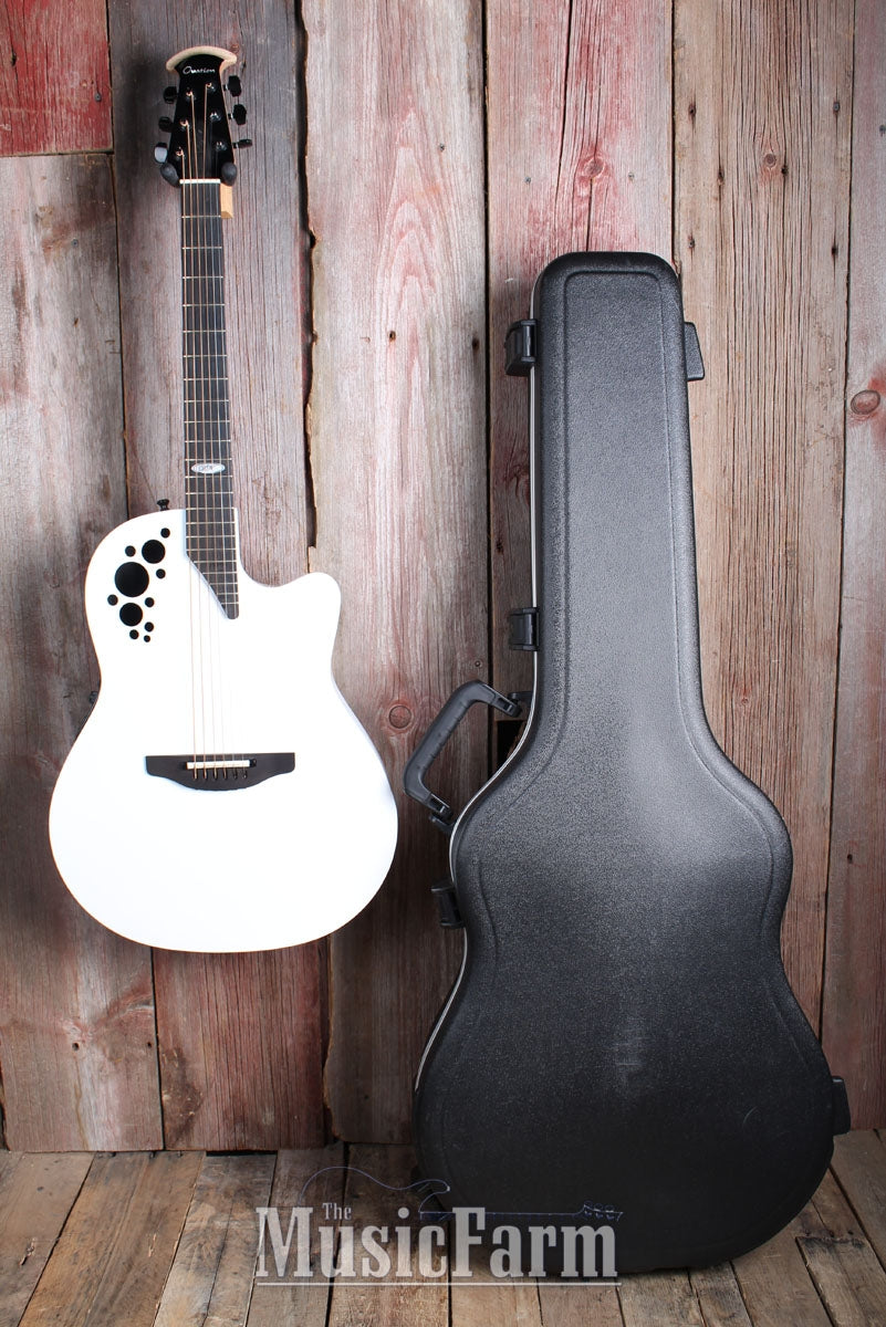Ovation USA Acoustic Electric Guitar Dave Navarro Jane Says PROTOTYPE with Case