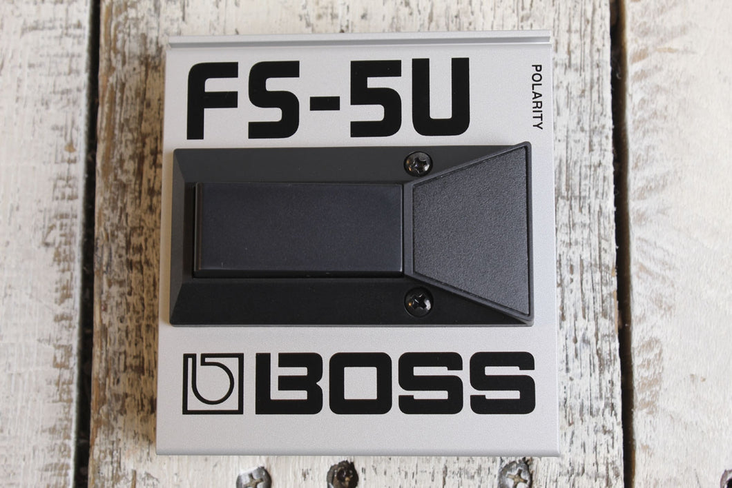 Boss FS-5U Footswitch Non Latching Electric Guitar Foot Switch Momentary Unlatch