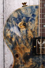 Load image into Gallery viewer, Dean 2018 USA Thoroughbred Buckeye Burl Electric Guitar Blue Marble with Case