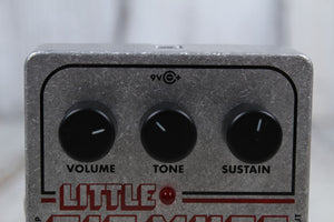 Electro Harmonix Little Big Muff Distortion Sustain Electric Guitar Effects Pedal