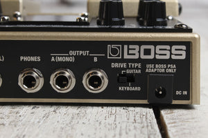 Boss RT-20 Rotary Speaker Simulator Twin Electric Guitar Pedal with FREE Cables