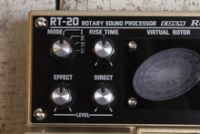 Load image into Gallery viewer, Boss RT-20 Rotary Speaker Simulator Twin Electric Guitar Pedal with FREE Cables