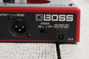 Boss VE-20 Vocal Performer Processor Multi Effects Pedal with Three FREE Cables