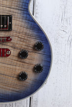 Load image into Gallery viewer, Dean USA Cadillac 1980 Flame Top Electric Guitar Custom Shop Ocean Burst w Case