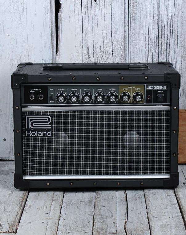 Roland JC22 Jazz Chorus Electric Guitar Combo Amplifier 30 Watt Solid State Amp