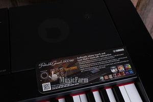 Yamaha DGX660 88 Key Portable Grand Digital Piano Keyboard Black