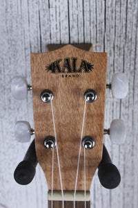 Kala Exotic Mahogany Travel Concert Ukulele Natural Satin KA-EMTU-C w Gig Bag