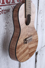Load image into Gallery viewer, Kala Exotic Mahogany Travel Concert Ukulele Natural Satin KA-EMTU-C w Gig Bag