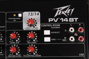 Peavey PV14 BT Mixing Console